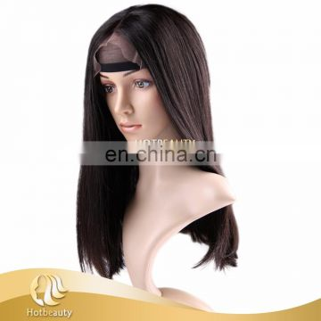 2017 Top Sell Virgin Hair Wig 130% density Brazilian Hair Front Lace Wig