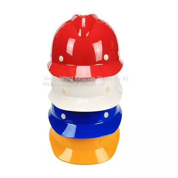 Types of Fiberglass Safety Helmet V Type Smart Safety Helmet