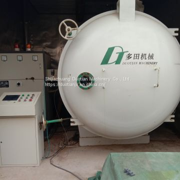 Radio Frequency Solid Wood Drying Machine Vacuum Kiln For Sale