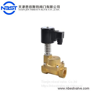 300 Degree High Temperature 24V brass Steam Solenoid Valve