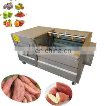 Durable and wear resistant sweet potato chips making machine potato peeling machine