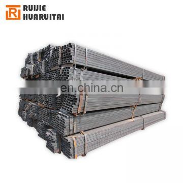 Hollow section square black steel pipe, Q345 black SHS RHS steel tubes hollow section for construction