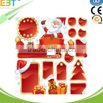 Own Brand Made Good Quality Christmas Decorative Label