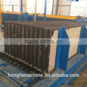 Cellular lightweight concrete brick making machine in China