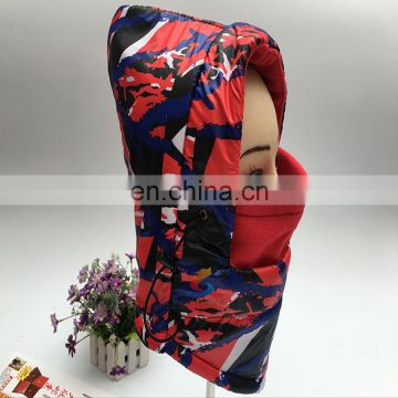 Motorcycle Fleece Hood Face Mask Ski Snowboard Hats Balaclava