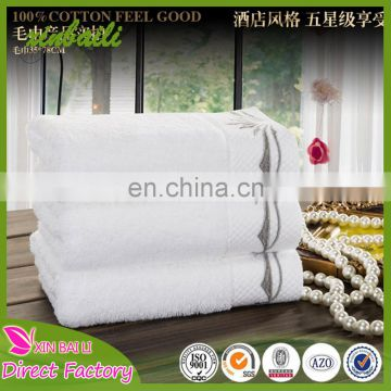 Wholesale Custom Made Embroidered 100% Bamboo Fiber Hotel Towel