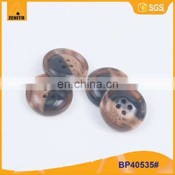 Custom Plastic Resin Button for Suit BP40535
