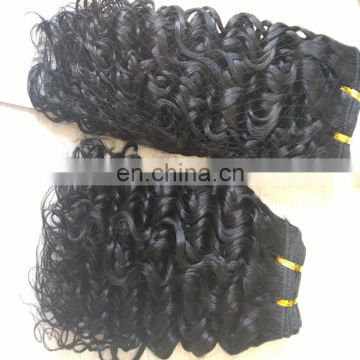 Top grade peruvian hair weaving no tangle no shedding real human hair extensions natural color hair