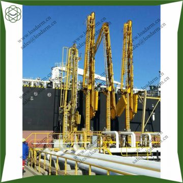 Marine loading arm with electro-hydraulic system