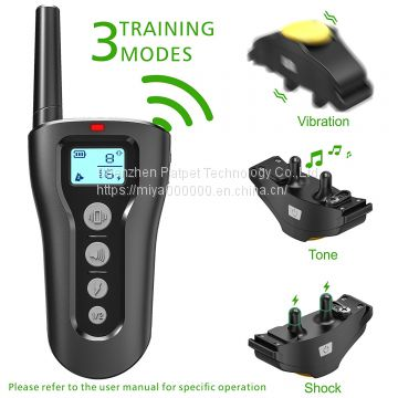 Little dog bark collar rechargeable remote/training a dog using a choke collar