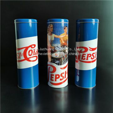 Candy Chocolate  / Coffee Silk-screen Printing Screw Top Tins