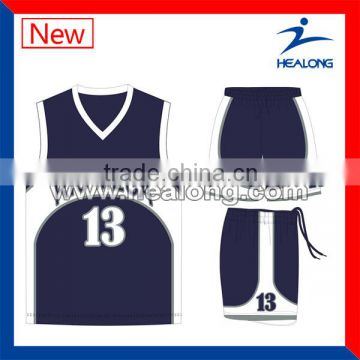 dry fit uniform sublimation jersey basketball design