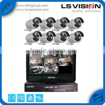 LS VISION For Wholesale 1.3Mp Ip Camera Outdoor Wireless Cctv System 8 Ch Hd 960P Cctv Kit