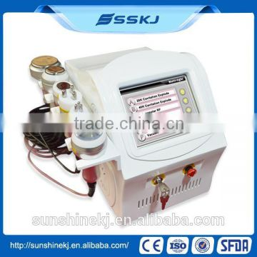 Portable Professional home cavitation cellulite removal machine
