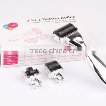 3 in 1 medical grade derma roller , factory direct sale micro needle , high quality microneedl with CE approved