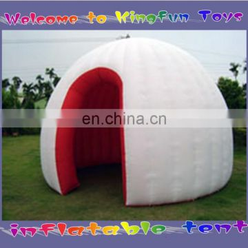 Outdoor family inflatable dome for camping