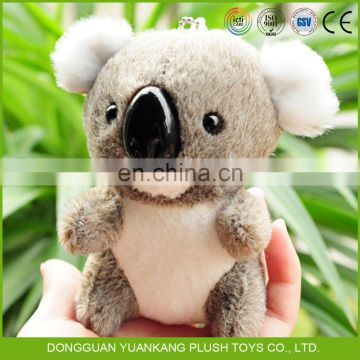 Custom Stuffed Toy Mini Plush Baby Koala Bear Keychain