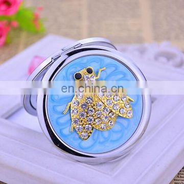 Tortoise Cosmetic Mirror Diamonds Compact Mirror High-end Cosmetic Mirror