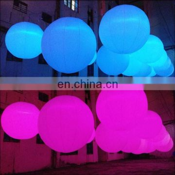 NB-CT3033 romantic Beautifu inflatable led ball for wedding decoration