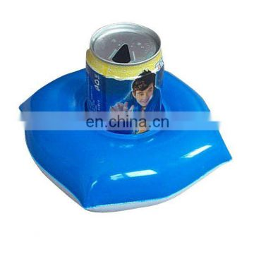 pvc inflatable drink holder