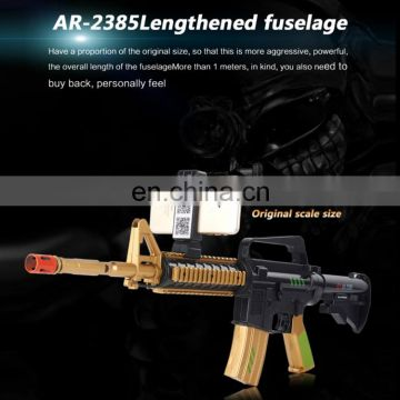 Newest Factory Stock AR Toy Gun in ABS with Bluetooth V4.2 Handle Controllers Support iOS Android Smartphone