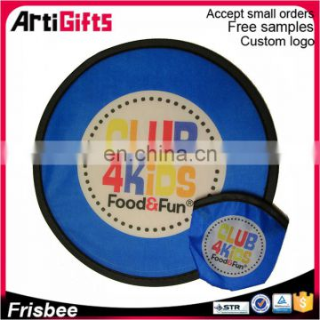 Professional Frisbee Manufacturer Promotional Wholesale Cheap Custom Foldable Frisbee For Sale