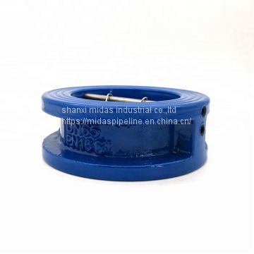 BS5152 ductile cast iron DI swing type check valve for water