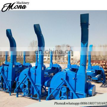 multifunctional dry/ensilage straw crusher/hay/chaff cutter for farm use