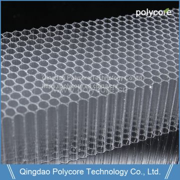 Factory Lexan Transparent Policarbonato Honeycomb Cellular Polycarbonate Sheet