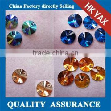 0106L China factory Flat back Sew on Crystals ab,crystals sew on,sew on crystals for dresses