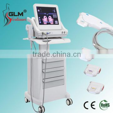 Top rated body contour shape HIFU body slimming/HIFU face lift/wrinkle removal,skin tightening beauty equipment