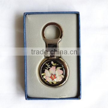 Mother of pearl inlaid handicrafts keychains