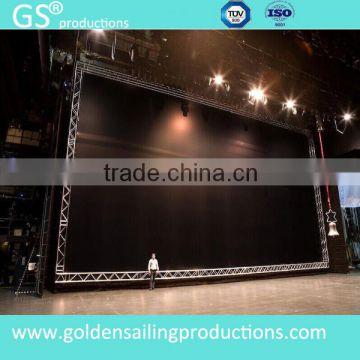 gentry concert lighting truss backdrop aluminum truss roof