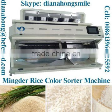 Rice color sorter from Mingder factory price, customade orders