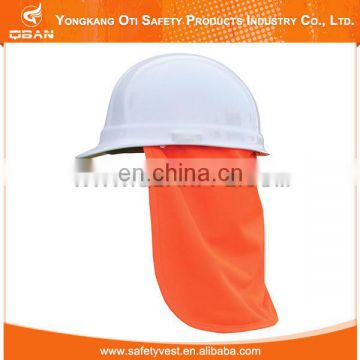Safety protection hard hat neck shade