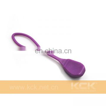 Purple Zipper Sliders, TPU Attach directly to zipper slider