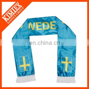 Custom small quantity polyester scarf