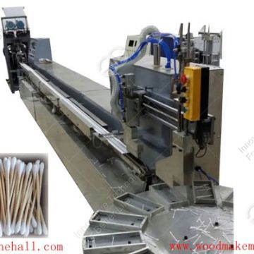 Fully automatic cotton bud making machine for medical use