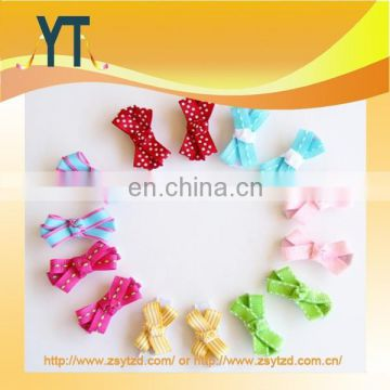 Zhong Shan Factory Colorful Mini Cute hair bow/barrette/hair pin