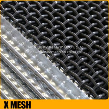 Iron Crimped Wire Mesh With Edges Manufacturer Lower Price Of