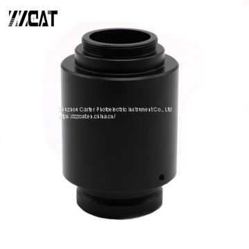 1X C Thread Interface Connect CCD Camera Adapter C-mount Camera Adapter for Zeiss Trinocular Microscope