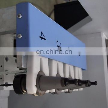 China manufacturer aluminum profile 3 + 1 axis drilling hole machine