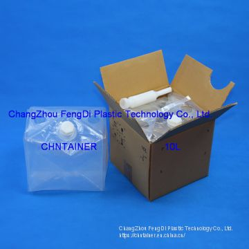 Flexible Cheertainer 10 Liters for AdBlue Solution Packaging