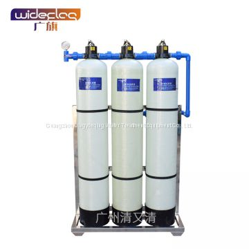 Hotel bath softener fully automatic softener 0.5 t/h