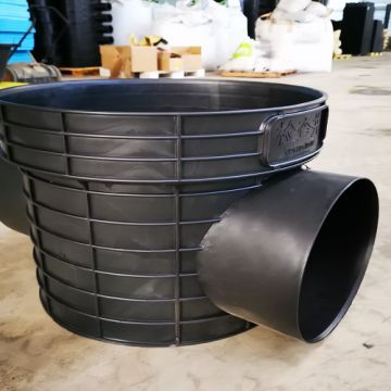 Corrosion Resistance Set At The Turning Of Pipeline Plastic Inspection Shaft