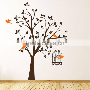 Promotional DIY cute animal nursery wall decals eco-friendly waterproof self-adhesive decorative wall sticker tree wall sticker                                                                         Quality Choice