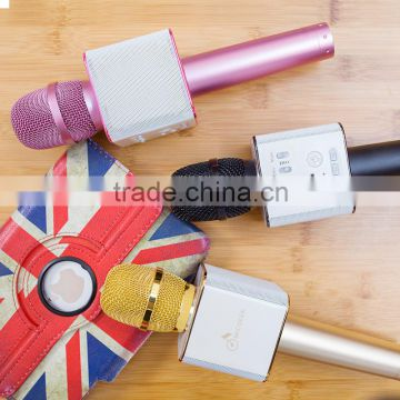 2016 Wireless Microphone Mini karaoke microphone for mobile phone factory price wholesale