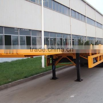 SINOTRUK low bed Semi Trailer 40T trailer for container (manufacturer)