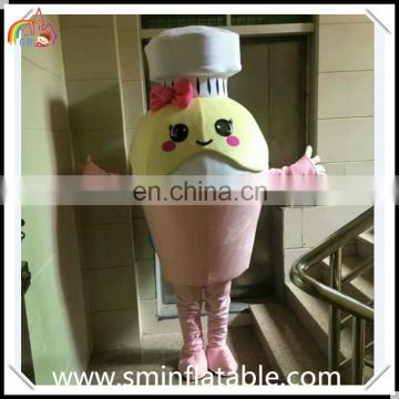 Customized milk powder costume, plush jar powder mascot costume for adult & advertising event