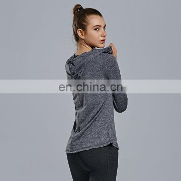 Women basic t-shirt Training gym casual plain sweatshirt